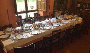 Comuniones y demás eventos en una casa rural