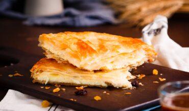 Cocina tradicional lacianiega: empanada del país